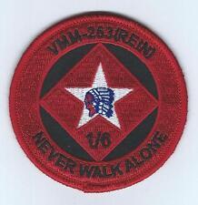 "VMM-263(REIN) ""NEVER WALK ALONE"" patch"