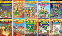 Geronimo Stilton Series Collection Set Books 31-40 Brand New Gift Quality!