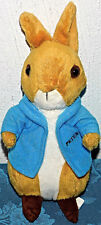 "Peter Rabbit Beatrix Potter Soft Plush Rabbit 8"" STUFFED TOY LOVEY BUNNY EASTER"