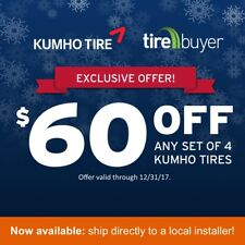 P265/75R16 Kumho Crugen HT51 Tires 114 T Set of 4