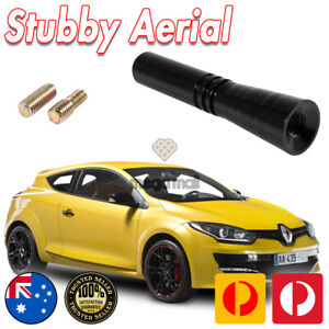 Antenna / Aerial Stubby Bee Sting for Renault Megane RS 265 - Black 5CM