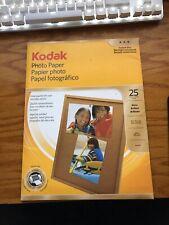 Kodak Glossy Photo Paper, 8.5 x 11 Inches (1912369) NEW