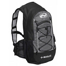 Held To-Go noir/gris moto Moto Imperméable Sac à dos 12 L.