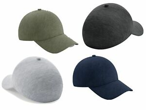 Beechfield Seamless Athleisure Cap Baseball Hat with Pre-curved Peak