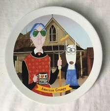 Hallmark Maxine American Grumpy Collectible Dessert Plate Old Lady 7.5""