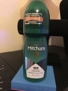 Mitchum Men Unscented Roll On Deodorant 48 Hour New