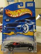 Hot Wheels Austin Healey 2000 First Editions #092 Black / Silver