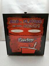 Nib Coke Flavor Rage Double Syrup Dispenser Complete Model 36-001 2003 Metal