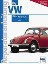 VW Käfer/Karmann Ghia Reparaturanleitung ab 1968 (1200 1300 1302 1303 1500 1600)