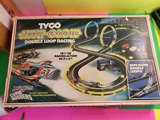 Vintage TYCO Super Duper Double Looper Night Glow Race Set NOT COMPLETE