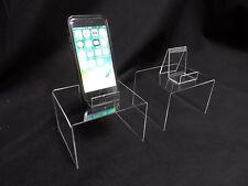 2X PODIUM COMME NEUF + 2x Support pour portable de table Affichages acrylique