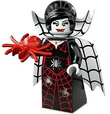 LEGO Minifigures Series 14 Monsters halloween Vampire Spider Lady goth