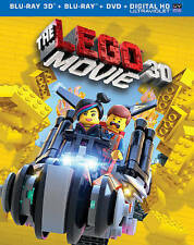 NEW - Lego Movie The (3D Blu-ray + Blu-ray + DVD +UltraViolet Combo Pack)