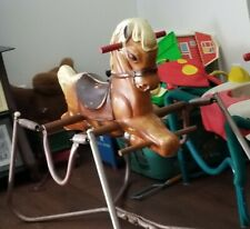Vintage Wonder Products Deluxe Spring Bouncy Rocking Horse 1950-60's