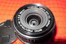 obiettivo PENTAX SMC-M 28mm f2.8 PK