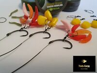 5 Korda N Trap Maggot Clip & Line Aligner Rigs Custom Carp Rig Teflon Sweetcorn