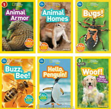 National Geographic Readers Level Pre-Reader-3 Bee,Bugs,Hello Penguin(Paperback)