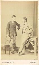 Oxford. Two gentleman by  Wheeler & Day, 106 High Street  (JC.522)