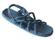 Nude's Rope Sandals - Neptune Style Denim Women 10 Jesus Sandal Handmade Sandal