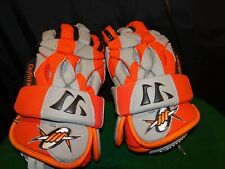 DENVER OUTLAWS LACROSSE GLOVES MLL WARRIOR PLAYERS CLUB SERIES RARE!