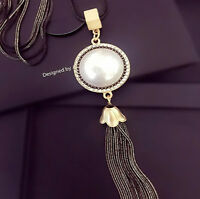 Damen Halskette Schmuck Collier Anhänger mit Kette GOLD Mode 75cm Geschenk 27€