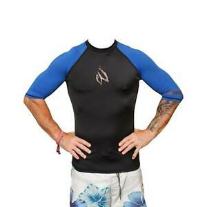 Blackhawk surfing swimming snorkeling short half sleeve rash guard vest