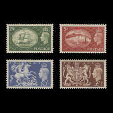 Great Britain 1951 (MNH) High Value Festival Definitives