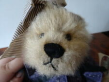"Ganz Cottage Collectibles Bears ""Becky"" 11 inches Tall with Hang Tags"