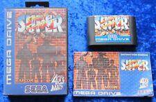 Super Street Fighter II, OVP Anleitung, SEGA Mega Drive Spiel