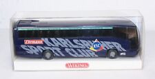 Wiking 7141040, Mannschaftsbus Karlsruher SC, 1:87, im Originalkarton    #ab1099