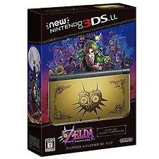 Nintendo 3ds LL XL 3d Pack The Legend of Zelda Majora Mask Edition Limited