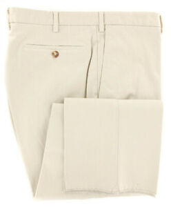 New $375 Incotex Beige Solid Pants - Slim - 44/60 - (1AW35S4076917)