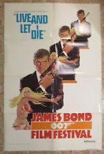 1976 JAMES BOND 007 Film Festival 1-SH Movie Poster FN+ 6.5 Roger Moore