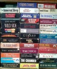 100 Pc Imported VHS Movies from US