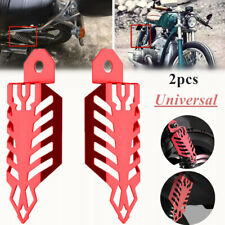 Protect Fork Dust Shock Absorber Spring Cover For Motorcycle Dirt Bike Aluminium
