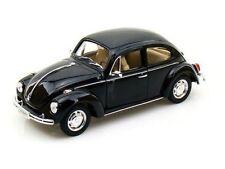 VW Beetle 1959 - Black , Classic Metal Model Car
