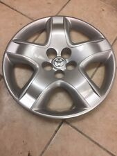 "(1) Used 16"" Toyota Matrix Wheel Cover- Hollander #61135"