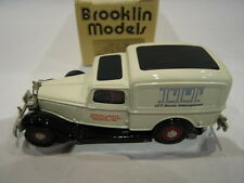 1/43 BROOKLIN 16X DODGE VAN ITT KRUSE INTERNATIONAL 150EX 1985