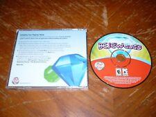 Bejeweled PC CD-ROM PopCap Games original game for Windows 98/Me/2000
