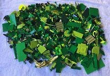LEGO Bulk Lot Green 1.7 KG Blocks Bricks Mixed Building Pieces Great Variety