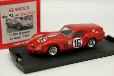Tron Glamour 1/43 - Ferrari 250 GT Breadvan Le Mans 1962 N°16
