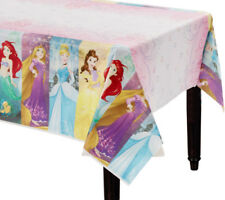 "DISNEY PRINCESS PARTY SUPPLIES TABLE CLOTH 54 X 96"" GENUINE LICENSED"