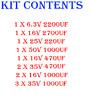 VESTEL 17PW26-4 Power board REPAIR KIT - TELEFUNKEN TECHWOOD SANYO SHARP LCD TV