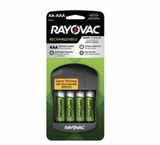 *BEST PRICE* RAYOVAC Smart Charger with 4 AA Rechargeable Batteries NiMH 1650mAH
