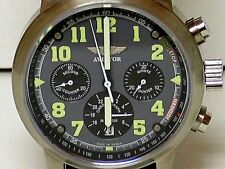 "Mechanical Russian watch ( Buran) Chronograph ""Aviator""."
