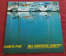 BILL WATROUS QUINTET  LP ORIG JAPON FUNK'N FUN