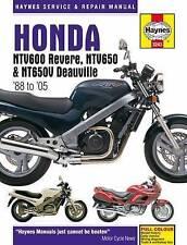 Honda Ntv600 Revere, Ntv650 & Ntv650V Deauville. 88-05 by Haynes Publishing (Pap