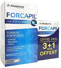 Arkopharma Forcapil Hair + Nails 4x 60 Tablets = 240 Capsules 4 Months Intensive