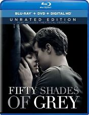 Fifty Shades of Grey: Blu-ray + DVD + Digital HD (2-Disc Set) Unrated Edition