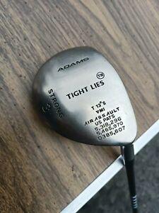 Adams Golf Tight Lies Strong 3 Wood 13 degree RH  Graphite Shaft